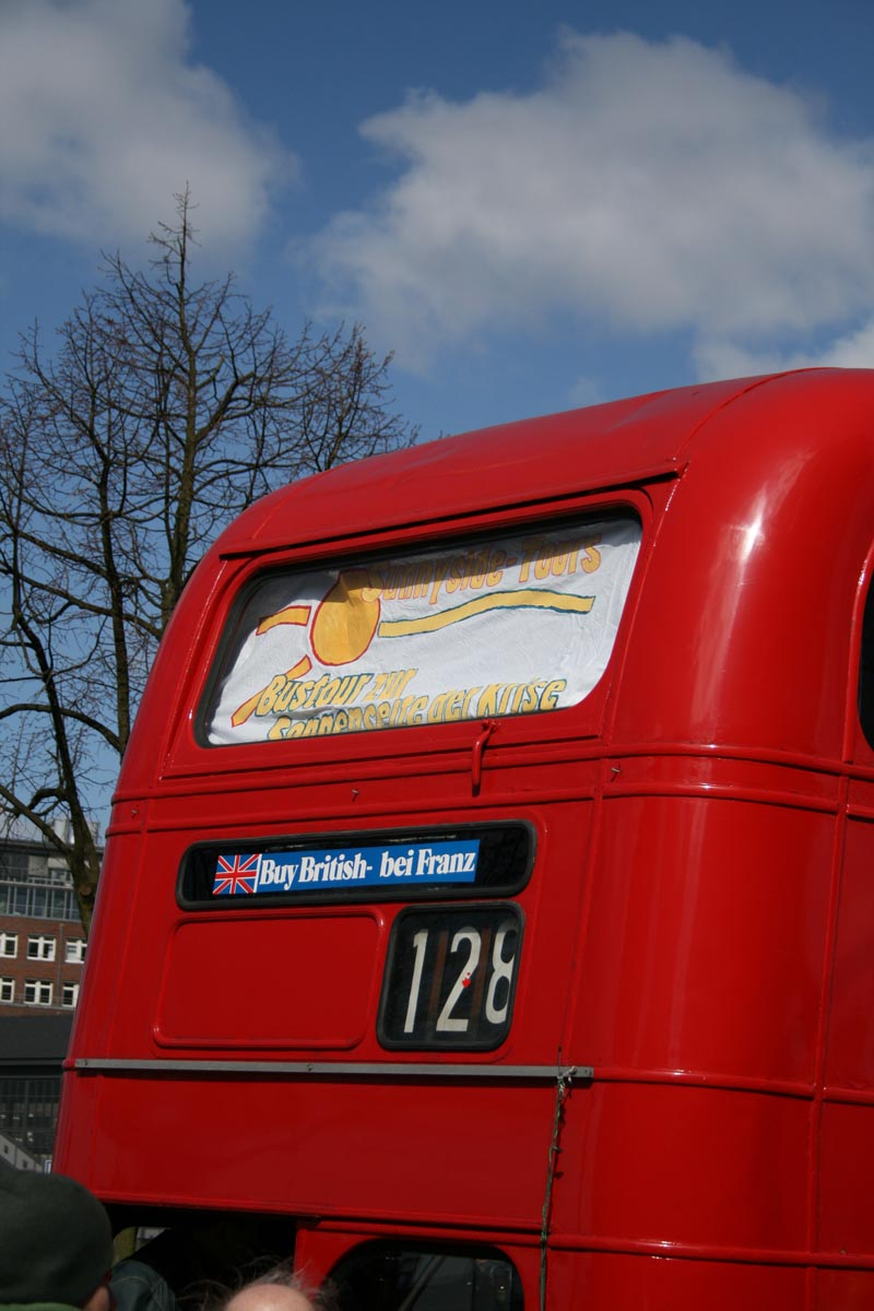 Bus Rückseite